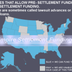 States That Allow Borrowing Against Injury Lawsuits or Pre Settlement Funding